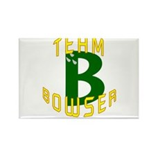 Team Bowser Rectangle Magnet