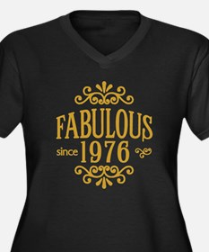 Fabulous Since 1976 Plus Size T-Shirt