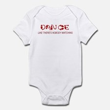 Dance Like There's Nobody Wat Infant Bodysuit