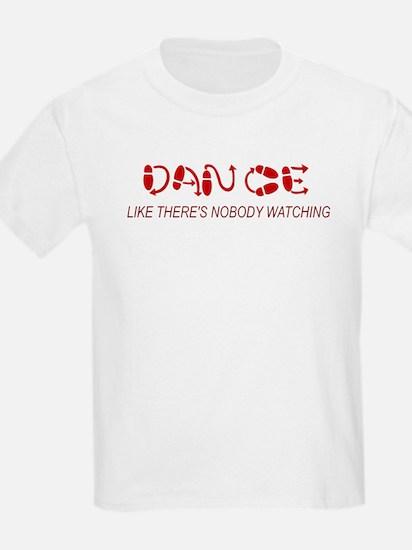 Dance Like There's Nobody Wat T-Shirt