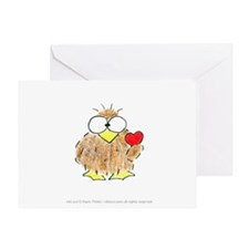 Owl You Need Is Love Card Greeting Cards
