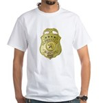 Private Detective White T-Shirt
