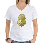 Private Detective Women's V-Neck T-Shirt