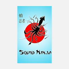 Squid Ninja Decal