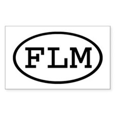 FLM Oval Rectangle Decal