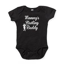 Mommys Hunting Buddy Baby Bodysuit