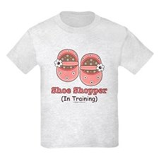 Pink Brown Baby Shoes T-Shirt