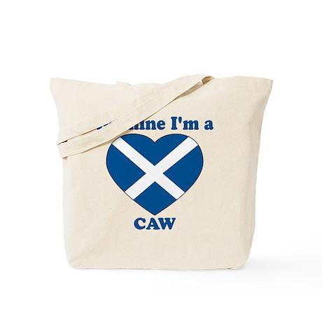Caw, Valentine's Day Tote Bag
