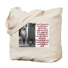 Funny Puppymills Tote Bag