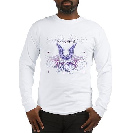 Purple Chakra Long Sleeve T-Shirt