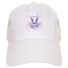 Purple Chakra Baseball Baseball Cap