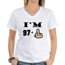 Middle Finger 98th Birthday T-Shirt