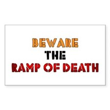Ramp of Death Rectangle Decal