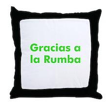 Gracias a la Rumba Throw Pillow