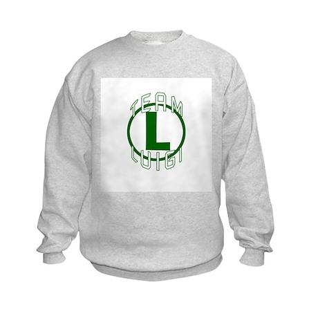 Team Luigi Kids Sweatshirt
