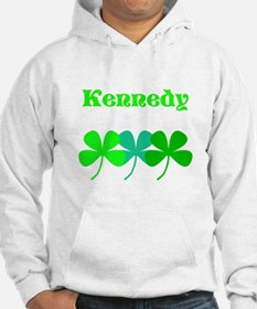 Personalized Irish Name 4 Leaf Clovers for Ted Hoo