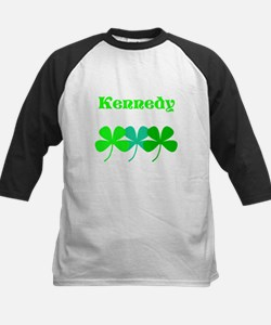 Personalized Irish Name 4 Leaf Clovers for Ted Bas