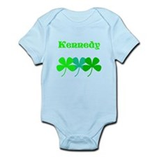 Personalized Irish Name 4 Leaf Clovers for Ted Bod