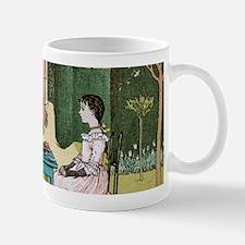 antique children art drawing Mugs