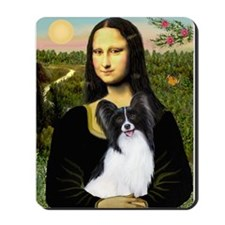 Mona's Papillon Mousepad