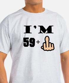 Middle Finger 60th Birthday T-Shirt