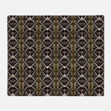 Diamondback Rattlesnake Throw Blanket