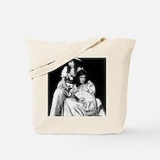 lillian dorothy gish sisters black white  Tote Bag