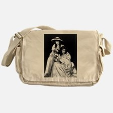 lillian dorothy gish sisters black w Messenger Bag