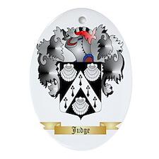Judge Ornament (Oval)