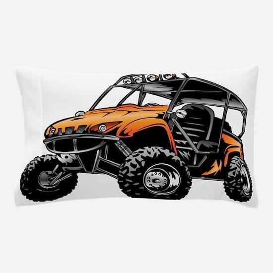 Go cart Pillow Case