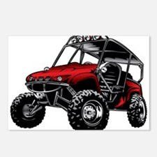 Funny Sports atv Postcards (Package of 8)