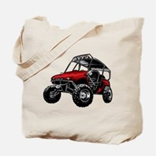 Funny Go cart racing Tote Bag