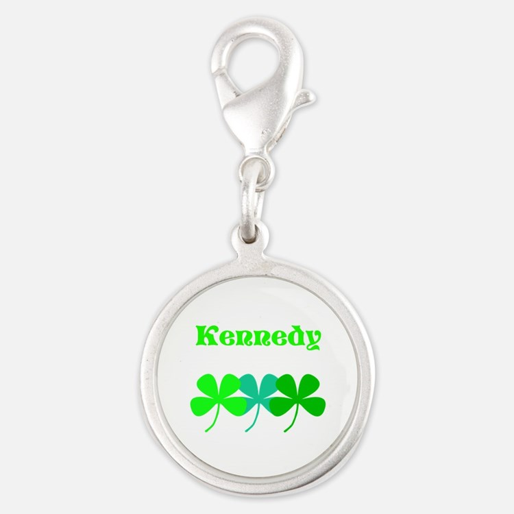 Personalized Irish Name 4 Leaf Clovers For Charms