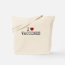 Iheartvaccines Tote Bag
