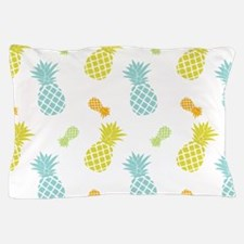 Colorful Pineapples Pattern Pillow Case