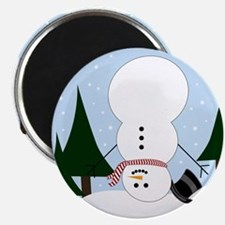 Upside-Down Snowman Magnets