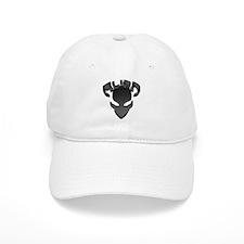 Alien with Logo Black Baseball Baseball Cap