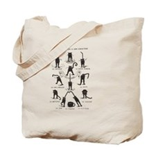 Cute Black Tote Bag