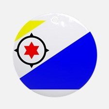Bonaire Flag Ornament (Round)