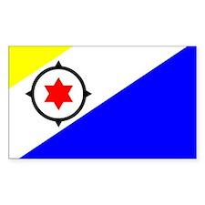 Bonaire Flag Rectangle Decal