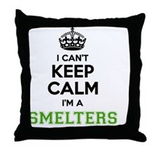Unique Smelters Throw Pillow