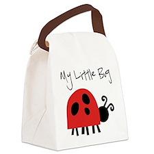 My Little Bug Canvas Lunch Bag