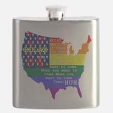RELAX 1984 Flask