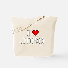 I Love Judo Tote Bag