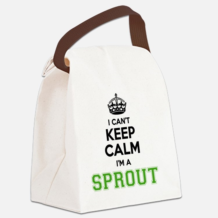 Cute Sprout Canvas Lunch Bag