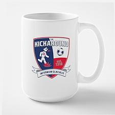 Kickaround logo Mugs