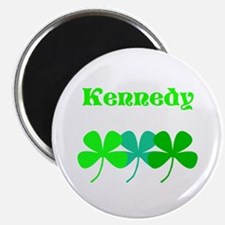 Personalized Irish Name 4 Leaf Clovers For Magnets