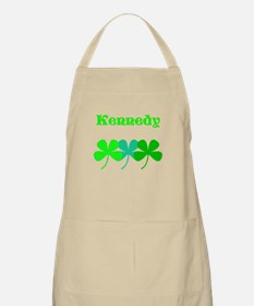 Personalized Irish Name 4 Leaf Clovers for Ted Apr