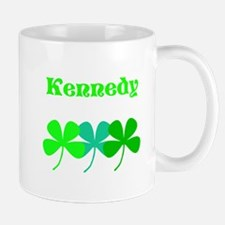 Personalized Irish Name 4 Leaf Clovers For Mugs