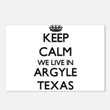 Keep calm we live in Argy Postcards (Package of 8)